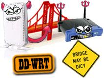 DD-WRT Wireless Bridge Difficulties